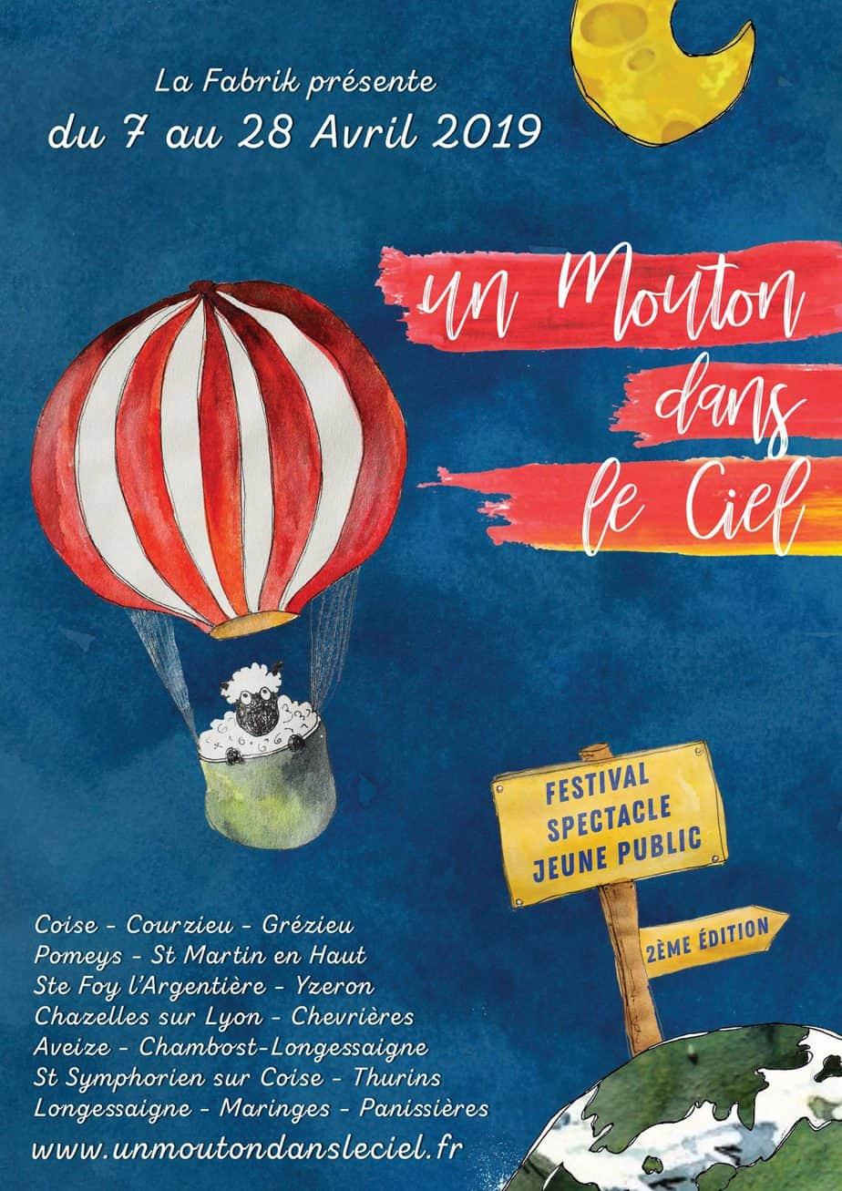 affiche montgolfiere
